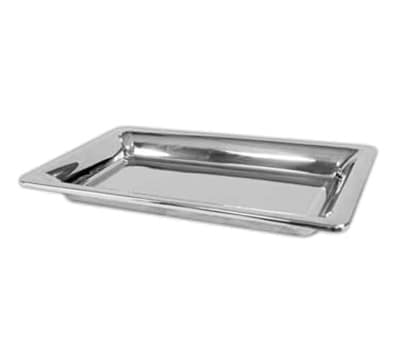 """Bon Chef 9323 13.75"""" Rectangle Platter - Double Wall, Stainless"""