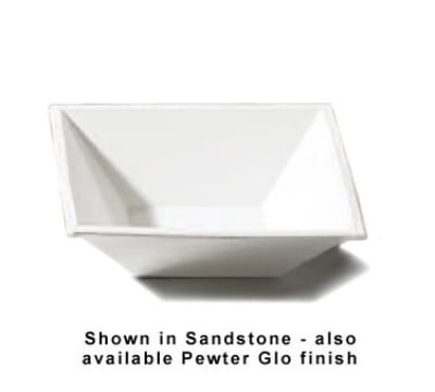 "Bon Chef 9508S BLK 8.5"" Flare Bowl, Aluminum/Black"