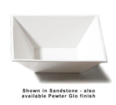 "Bon Chef 9509P 12-1/8"" Flare Bowl, Aluminum/Pewter-Glo"