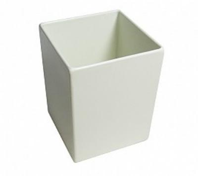 """Bon Chef 9515S BLK 56-oz Straight Bowl, 4.75 x 4.75 x 6"""", Aluminum/Black"""
