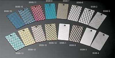 Bon Chef 95991SILMET Changeable Tile Insert, Silver Metro