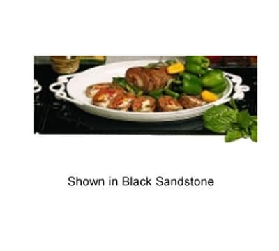 """Bon Chef 96052105S WH 27"""" Double Size Tile Tray for 2105, Aluminum/White"""