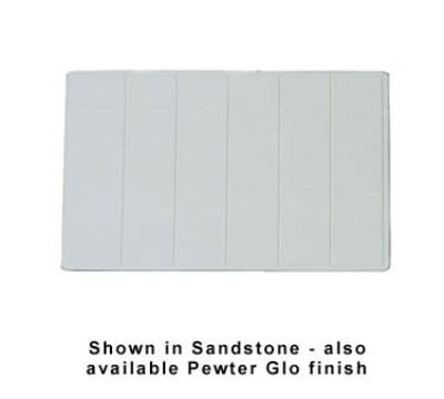 """Bon Chef 9605S BLK 27"""" Double Size Tile Tray, 27 x 21.5"""", Aluminum/Black"""