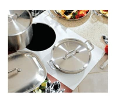 Bon Chef 961050 BLK Custom Cut Tile Tray for (2) 60003, Black