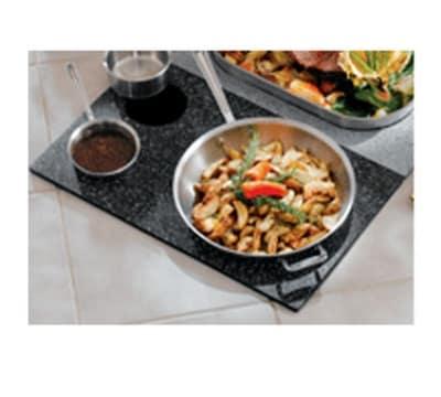 Bon Chef 961051 BLK Custom Cut Tile Tray for (1) 60008 & (2) 60009, Black