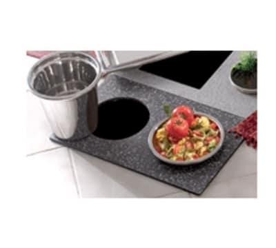 Bon Chef 961052 BLK Custom Cut Tile Tray for (2) 5226, Black