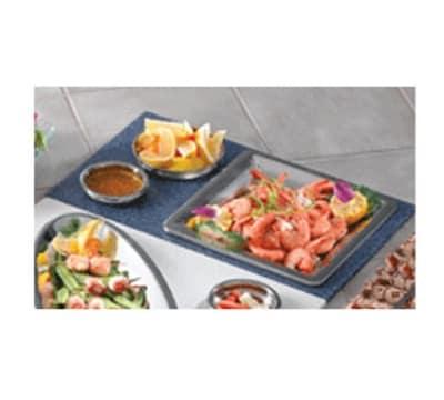 Bon Chef 961054 BLK Custom Cut Tile Tray for (1) 5216, (1) 5224 & (1) 5225, Black