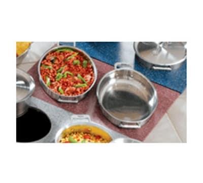 Bon Chef 961055 BLK Custom Cut Tile Tray for (2) 60002, Black