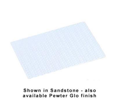 Bon Chef 9630S WH Single Size Tile Tray, Trellis, Aluminum/White