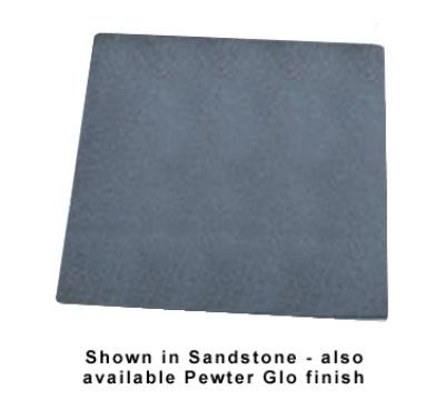 Bon Chef 9641P 1-1/2-Size Tile Tray, Plain, Aluminum/Pewter-Glo