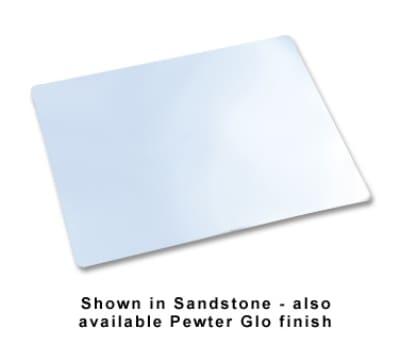 """Bon Chef 9642S WH Double Size Tile Tray, 27 x 21.5"""", Plain, Aluminum/White"""