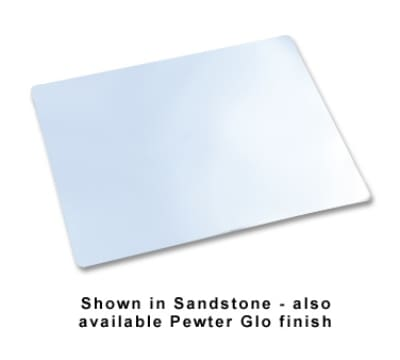 "Bon Chef 9643P Triple Size Tile Tray, 41 x 21.5"", Plain, Aluminum/Pewter-Glo"