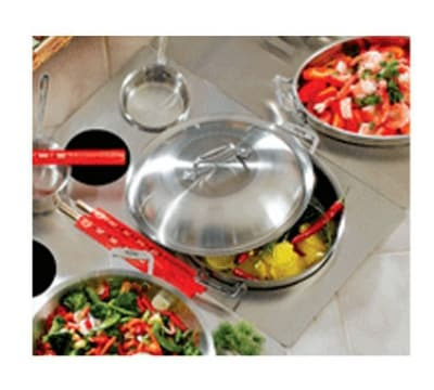 Bon Chef 966050 Custom Cut Tile Tray w/  Cutout for (1) 60001 & (2) 60009, Stainless