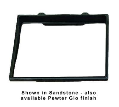 """Bon Chef 9705P Double Size Riser, 27 x 21.5"""", Aluminum/Pewter-Glo"""