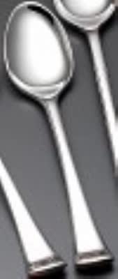 Bon Chef SBS3201S Bouillon Spoon, Aspen, Silverplated Bonsteel