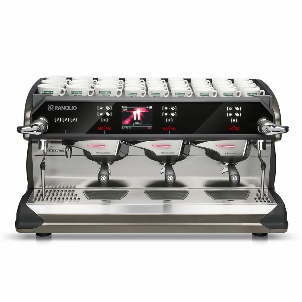 Rancilio CLASSE11USB3 Automatic Espresso Machine w/ 3 Group Heads, 16-Liter Boiler, 220-240v/1ph