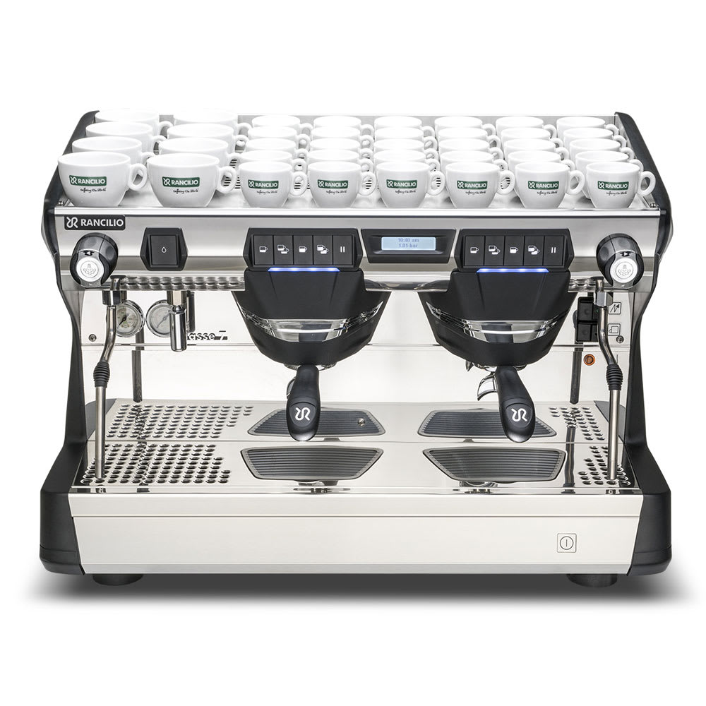 Rancilio CLASSE 7 USB2 Classe 7 Fully Automatic Espresso Machine w/ 11 Liter Boiler, 208 220v/1ph