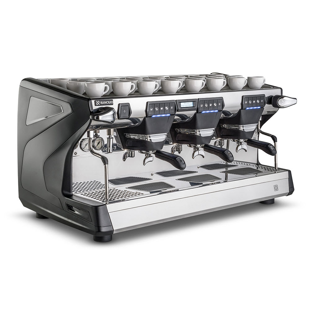 Rancilio CLASSE 7 USB3 TALL Classe 7 Fully Automatic Tall Espresso Machine w/ 16-Liter Boiler, 208-220v/1ph