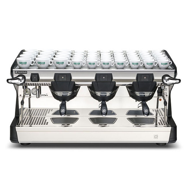 Rancilio CLASSE 7 S3 Classe 7 Manual Espresso Machine w/ 2 Steam Wand & 16 Liter Boiler, 220v/1ph