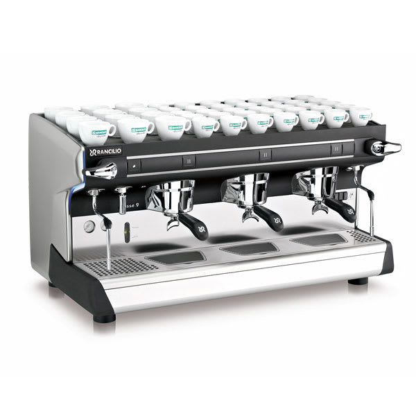 Rancilio CLASSE 9 S3 Classe 9 Manual Espresso Machine w/ 2-Steam Wand & 16-Liter Boiler, 220v/1ph