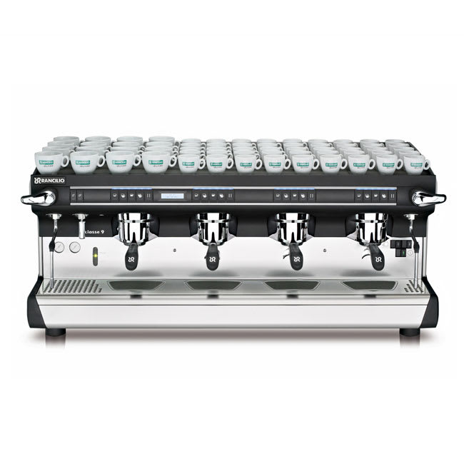 Rancilio CLASSE 9 USB4 Classe 9 Fully Automatic Espresso Machine w/ 22 Liter Boiler, 208 240v/1ph