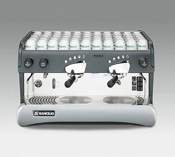 Rancilio EPOCA E2 Epoca Espresso Machine, Fully Automatic, 11 Liter Boiler