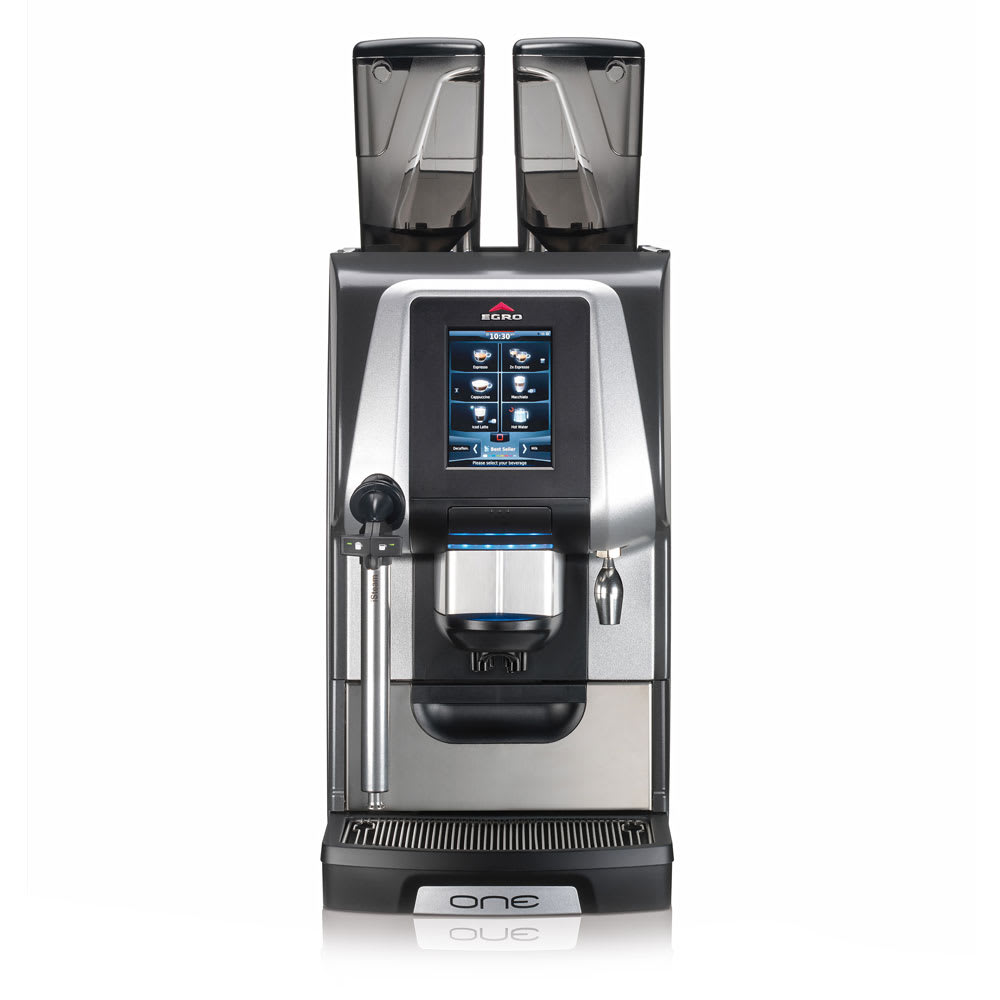 Rancilio ERGO ONE-PURE COFFEE EGRO ONE Pure Coffee Machine w/ Touchscreen & Isteam Wand, 208-220v/1ph