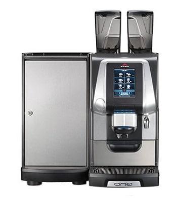 Rancilio EGRO ONE-TOP MILK XP EGRO ONE Top Milk Machine w/ Touchscreen, Fridge & 2-Head, 208-220v/1ph