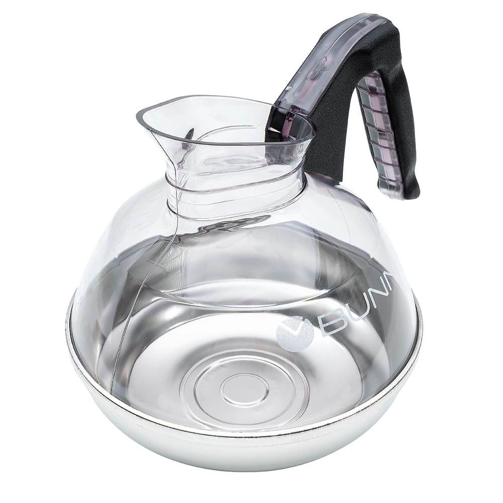 Bunn 06100.0101 64 oz Regular Coffee Decanter w/ Black Plastic Handle (06100.0101)
