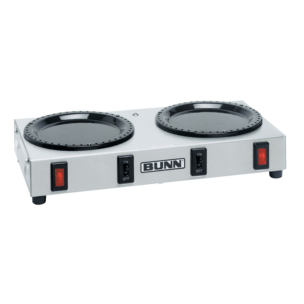 Bunn WX2 Side-by-Side Coffee Warmer, 120v (06310.0004)
