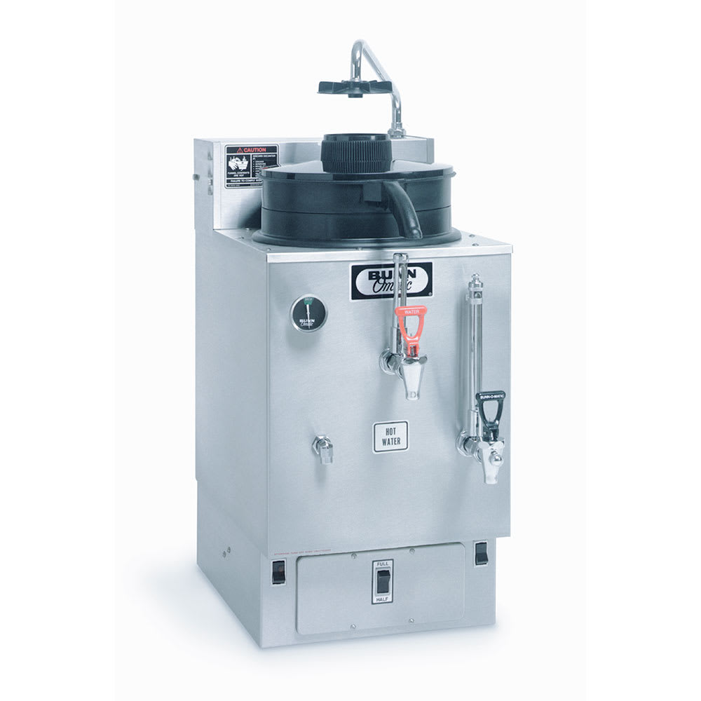 Bunn SRU-0001 SRU Coffee Urn w/ 3-gal Reservoir, 120-208v/1ph (06325.0001)