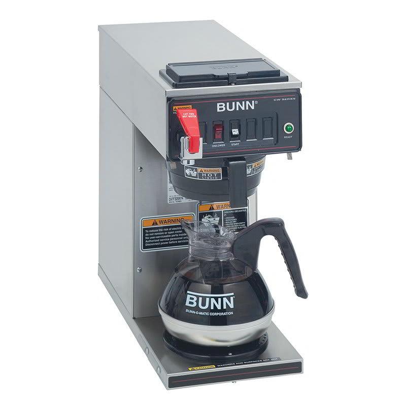 Bunn 12950.0293 Coffee Brewer - 1-Lower Warmer, Faucet, Plastic Funnel, 120v (12950.0293)