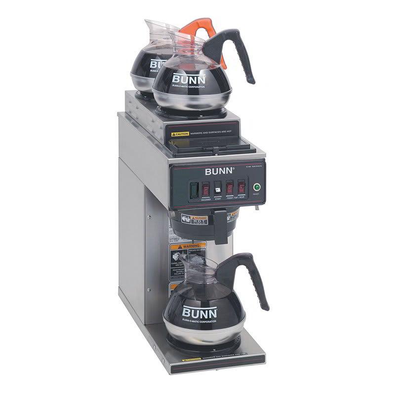 Bunn CWT15-3 Automatic Coffee Brewer w/ (1) Lower & (2) Upper Warmers, 120v (12950.0356)