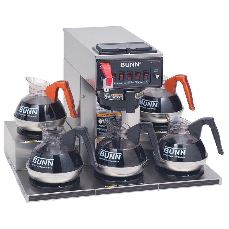 Bunn CRTF5-35 Automatic Coffee Brewer w/ (5) Lower Warmers, 208 240v (13250.0023)