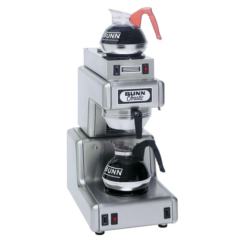 Bunn OL20-0001 OL20 Automatic Coffee Brewer w/ Upper & Lower Warmers, 120v (20820.0001)