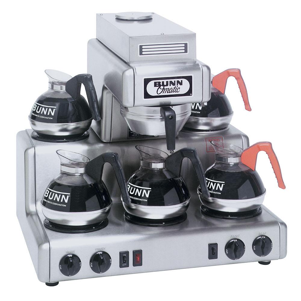 Bunn RL35-0000 Automatic Coffee Brewer w/ (5) Warmers, 7.5-gal/hr, 120v (20825.0000)