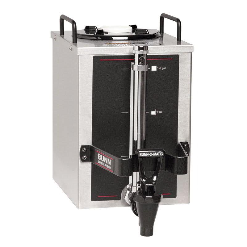 Bunn 1.5-GPR-0004 1.5GPR-FF Coffee Server, Top Handles, 1.5 Gallon, Fast Flow Faucet (20950.0004)