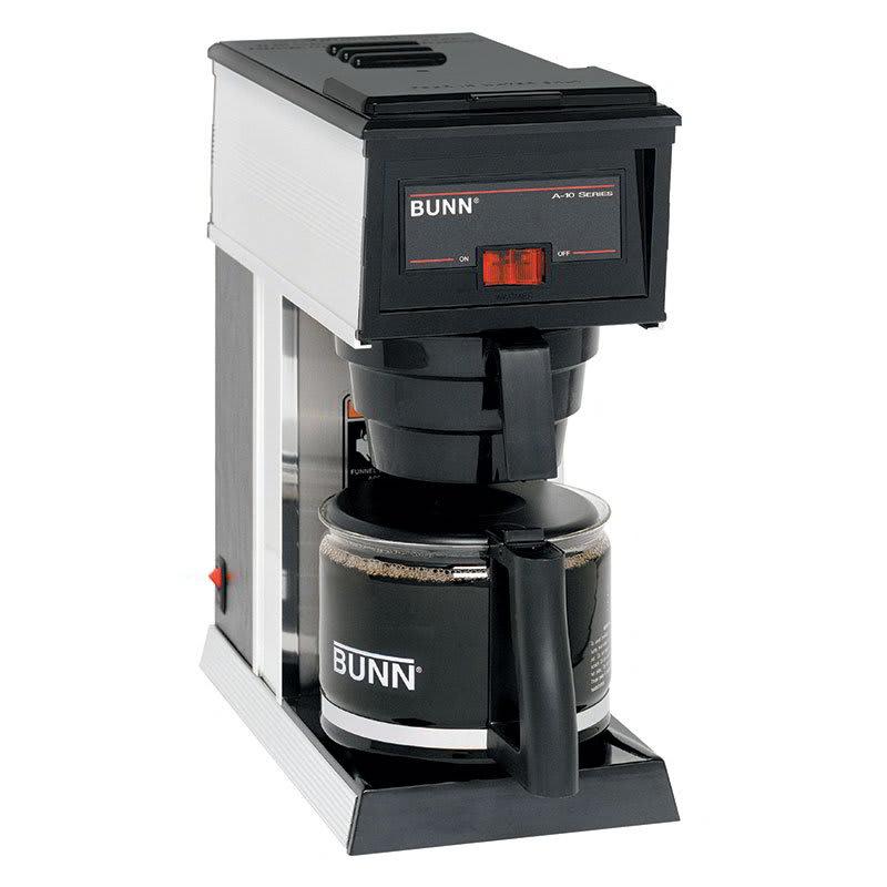Bunn A10-0000 10-Cup A10 Pourover Coffee Brewer w/ Warmer & Decanter (21250.0000)