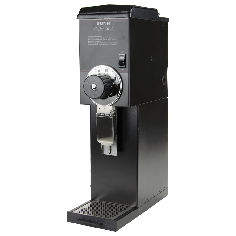 Bunn G3-0000 G3 HD Black Bulk Coffee Grinder, 3 lb Hopper, Black Finish (22100.0000)