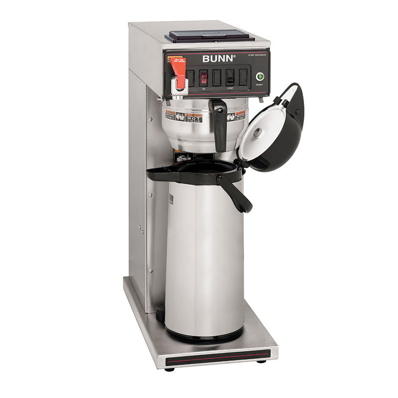 Bunn CWTF35-APS CWTF35 APS Airpot Coffee Brewer, Gourmet Funnel, 208 240v/1ph (23001.0052)