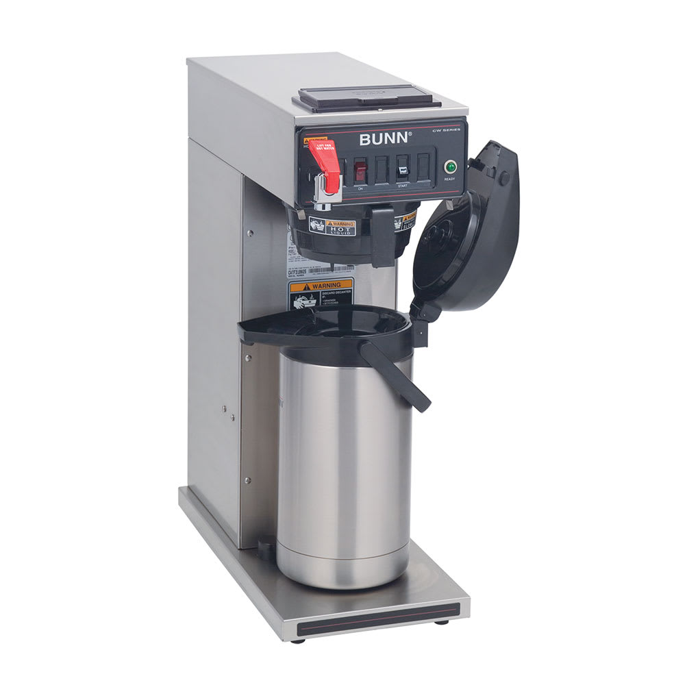 Bunn CWTF-APS-DV-0058 CWTF APS-DV Dual Voltage Airpot Coffee Brewer, 120-240v/1ph (23001.0058)