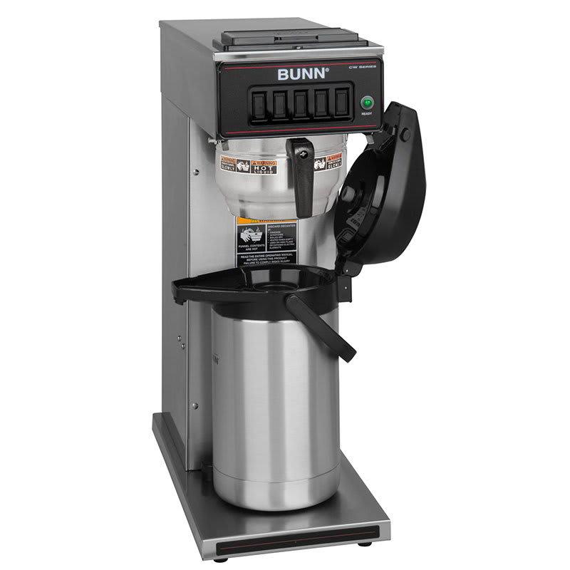 Bunn CW15-APS Airpot Coffee Brewer, Pourover, Gourmet Funnel, 120V (23001.0062)