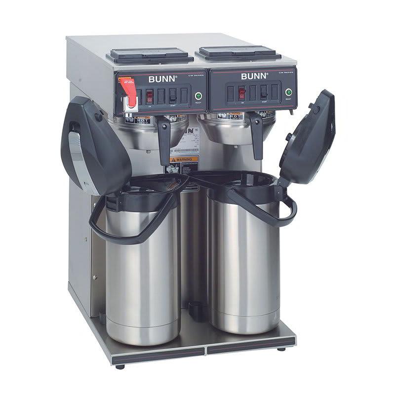 Bunn CWTF-APS-0041 Twin Airpot Coffee Brewer, Faucet, 120/240 V (23400.0041)