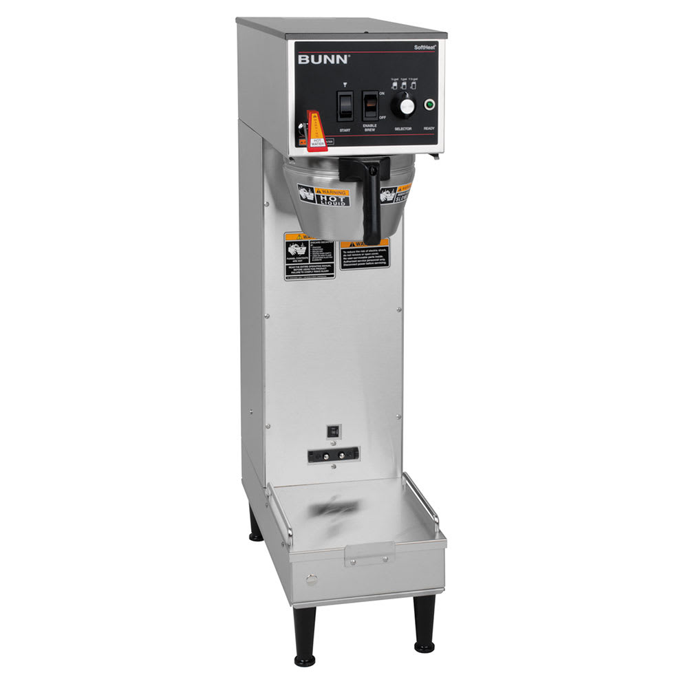 Bunn SH-SINGLE-0002 Single SH Satellite Coffee Brewer, 120-240v/1ph (27800.0002)