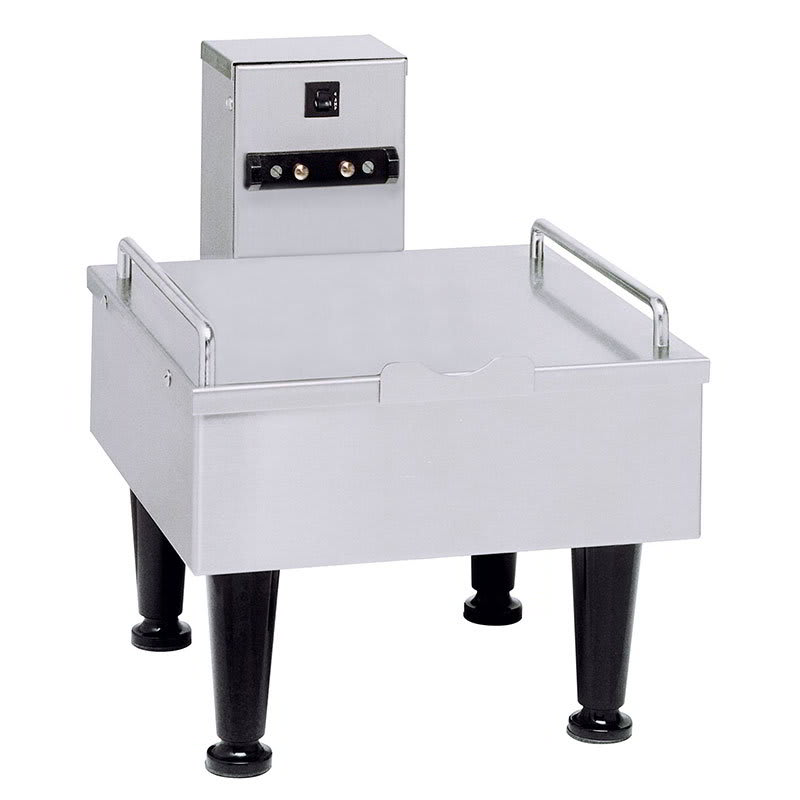 """Bunn SH-STAND-1-0000 1SH Stand for Satellite Coffee Server, Stainless Finish, 4"""" Legs, 120V (27825.0000)"""