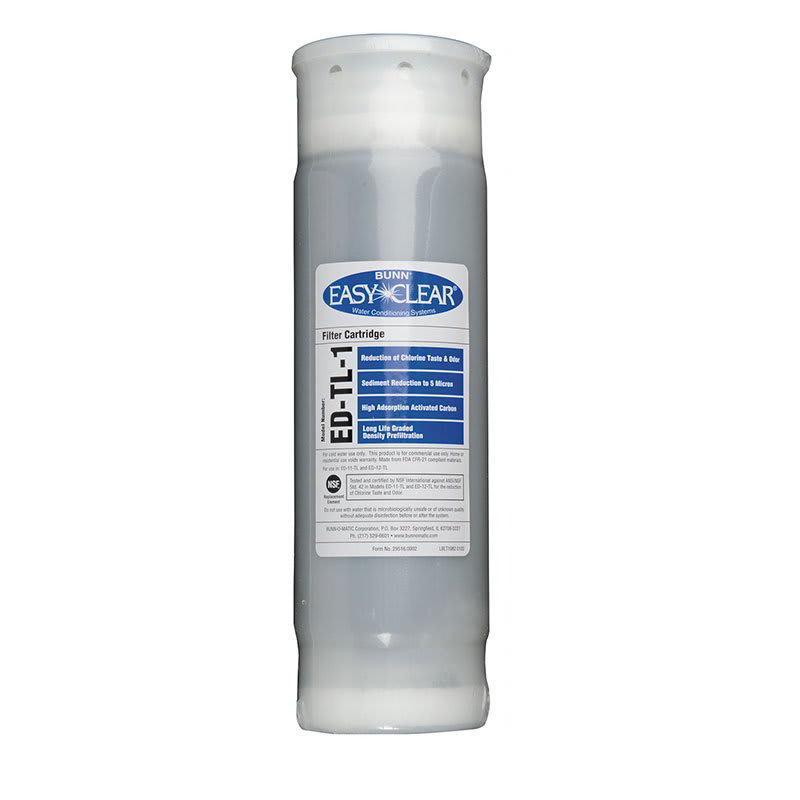 "Bunn ED-TL-1-1001 Drop-In Replacement Cartridge for ED-TL-1, Taste, Odor & Lime, 10"" (30231.1001)"
