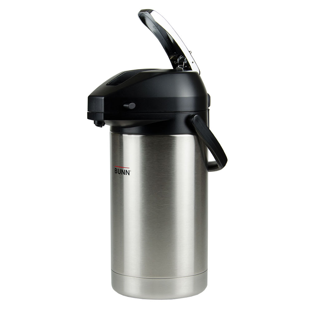 Bunn AIRPOT-3.0L-0000 3.0 Liter Lever-Action Airpot, Stainless Liner (32130.0000)