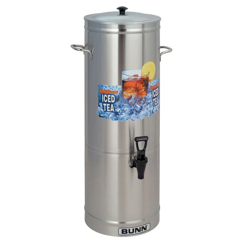 Bunn TDS-5 5 gal Round Iced Tea Coffee Dispenser w/ Handles (33000.0001)