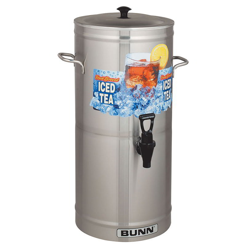 Bunn TDS-3.5-0008 TDS-3.5 Iced Tea Dispenser, Cylinder Style, 3.5 Gallon (33000.0023)