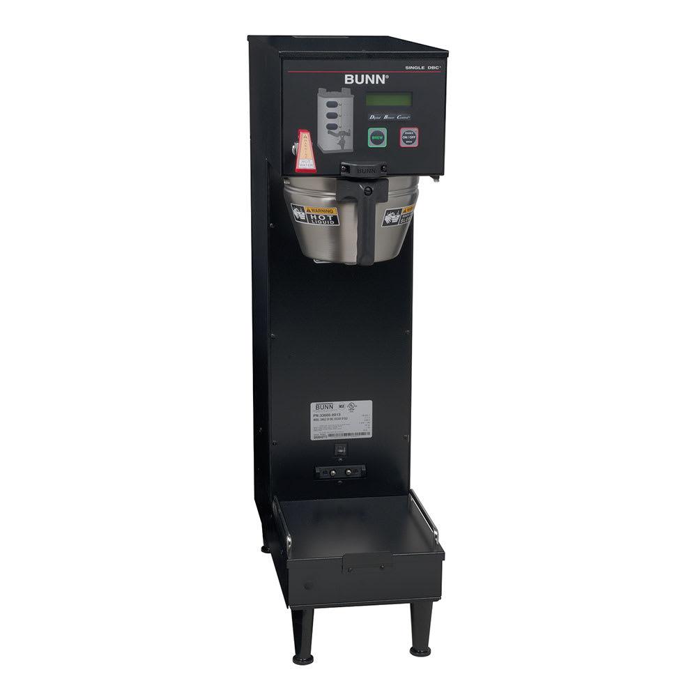 Bunn SINGLE SH DBC Single SH DBC, Satellite Brewer, Black Finish, Upper Faucet, 120 240v/1ph (33600.0013)